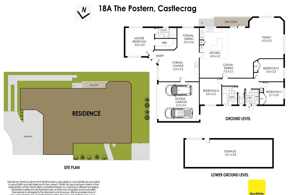 Floorplan of Homely house listing, 18A The Postern, Castlecrag NSW 2068