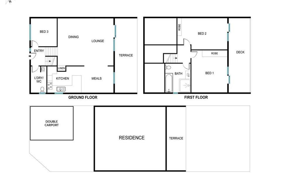 Floorplan of Homely house listing, 10/41 Jinka Street, Hawker ACT 2614