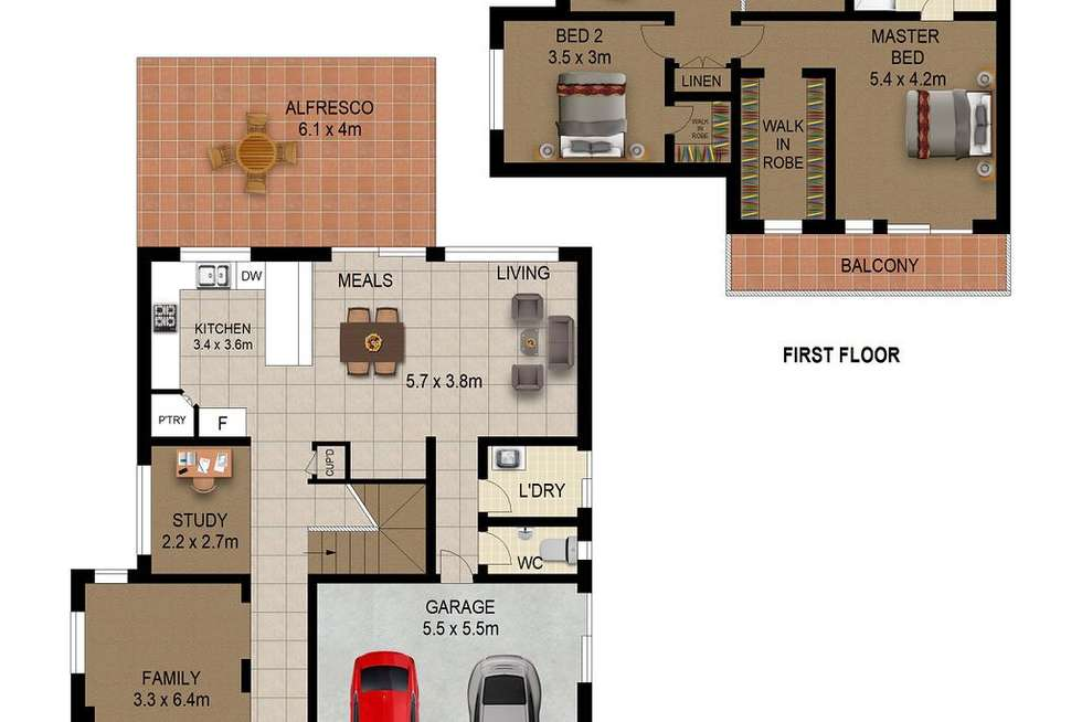 Floorplan of Homely house listing, 8 Purton Street, Stanhope Gardens NSW 2768