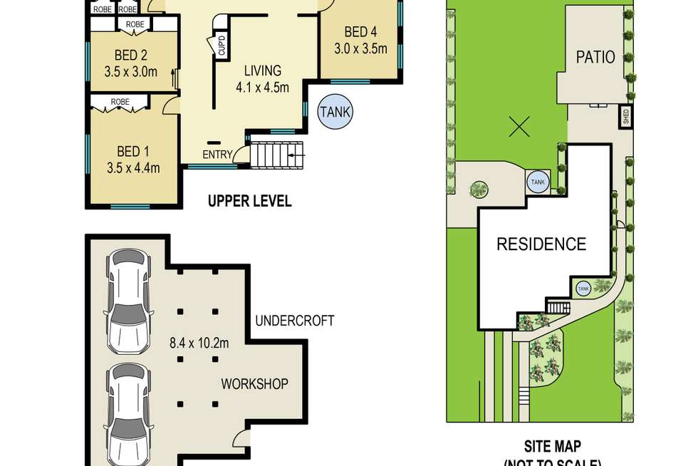 Floorplan of Homely house listing, 114 Holland Road, Holland Park QLD 4121