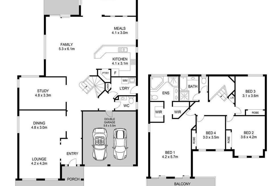 Floorplan of Homely house listing, 17 Somerset Street, Stanhope Gardens NSW 2768