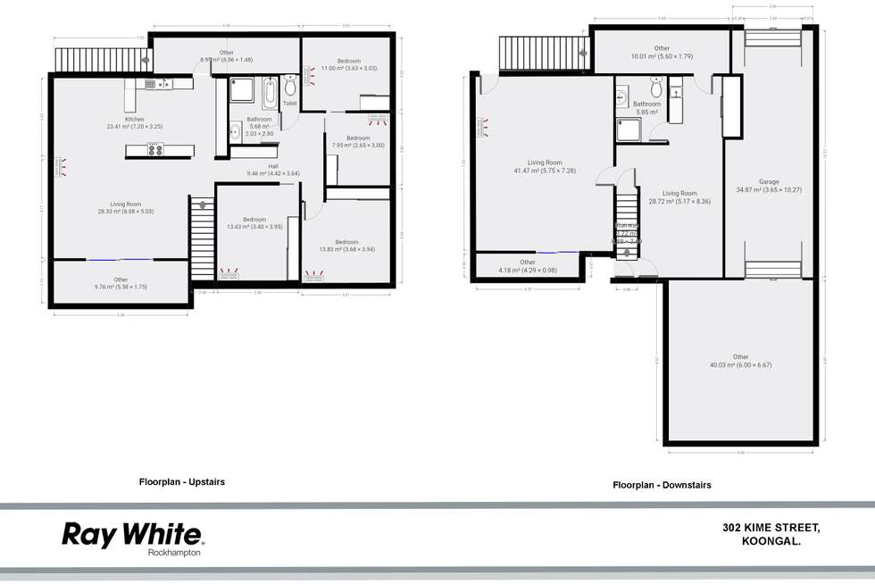 Floorplan of Homely house listing, 302 Kime Street, Koongal QLD 4701