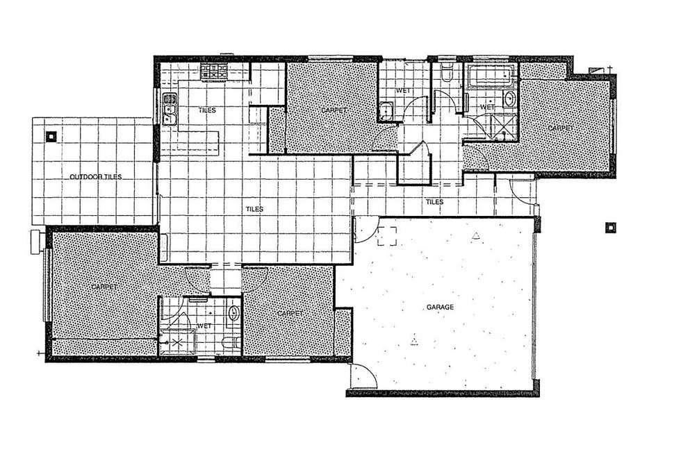 Floorplan of Homely house listing, 55 Mackellar Way, Walloon QLD 4306