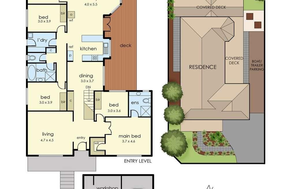 Floorplan of Homely house listing, 20 Candwindara Court, Langwarrin VIC 3910