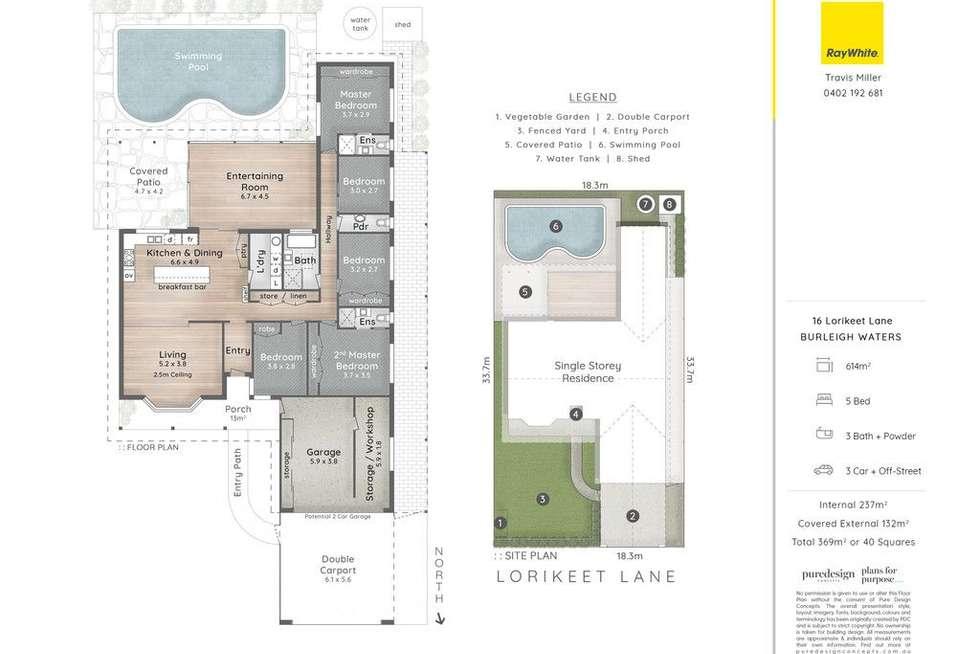 Floorplan of Homely house listing, 16 Lorikeet Lane, Burleigh Waters QLD 4220