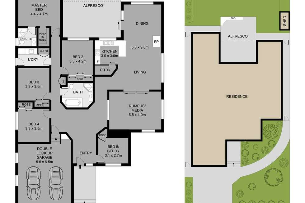 Floorplan of Homely house listing, 13 St Judes Terrace, Dural NSW 2158