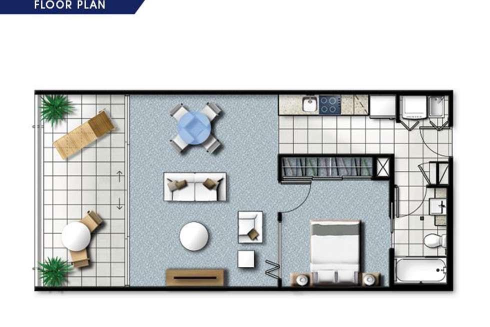 Floorplan of Homely unit listing, 304/2 East Quay Drive, Biggera Waters QLD 4216