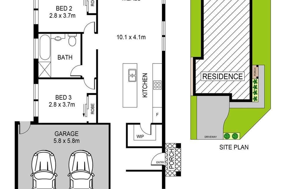 Floorplan of Homely house listing, 2 Yusen Street, Riverstone NSW 2765