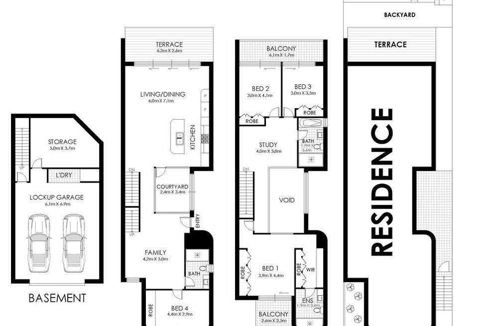 Floorplan of Homely house listing, 127 Moverly Road, South Coogee NSW 2034