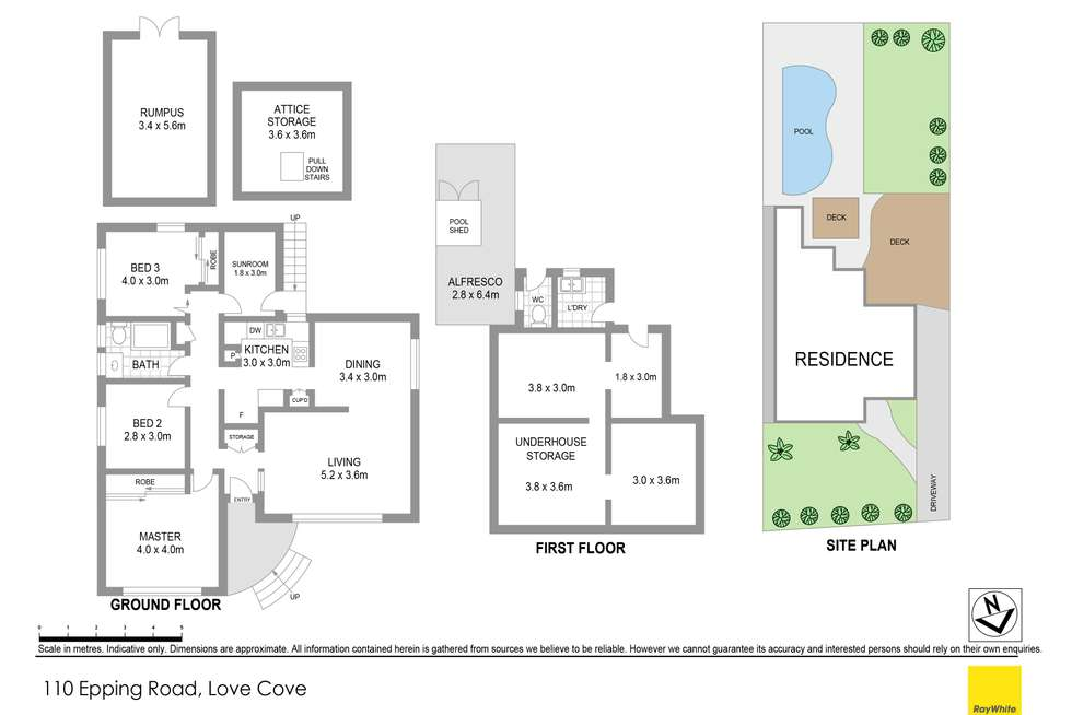 Floorplan of Homely house listing, 110 Epping Road, Lane Cove NSW 2066
