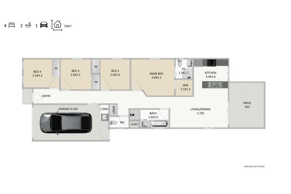 Floorplan of Homely house listing, 12 Generosity Street, South Ripley QLD 4306