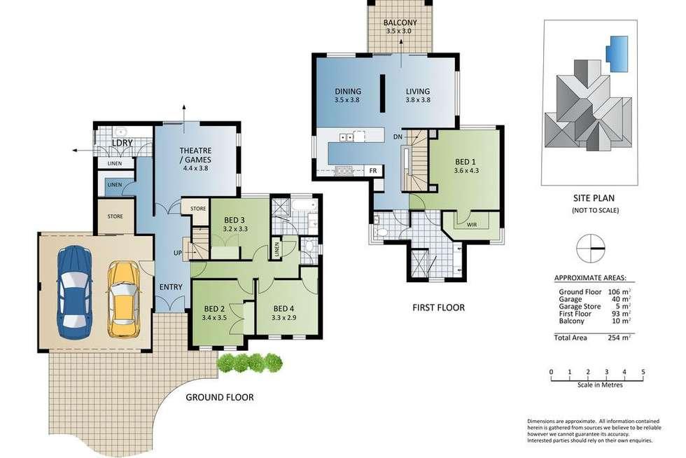 Floorplan of Homely house listing, 14 Seascape View, Yangebup WA 6164
