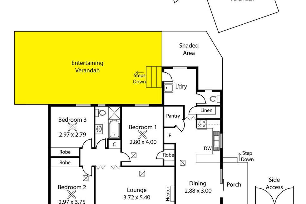 Floorplan of Homely house listing, 4 Broster Crescent, Davoren Park SA 5113