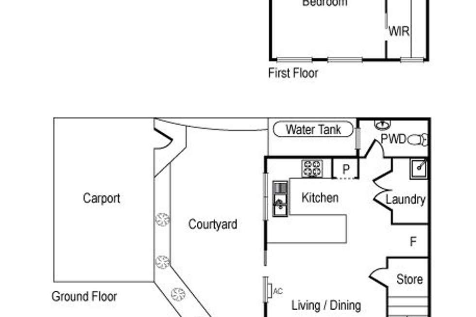 Floorplan of Homely unit listing, 4/1015 Nepean Highway, Moorabbin VIC 3189