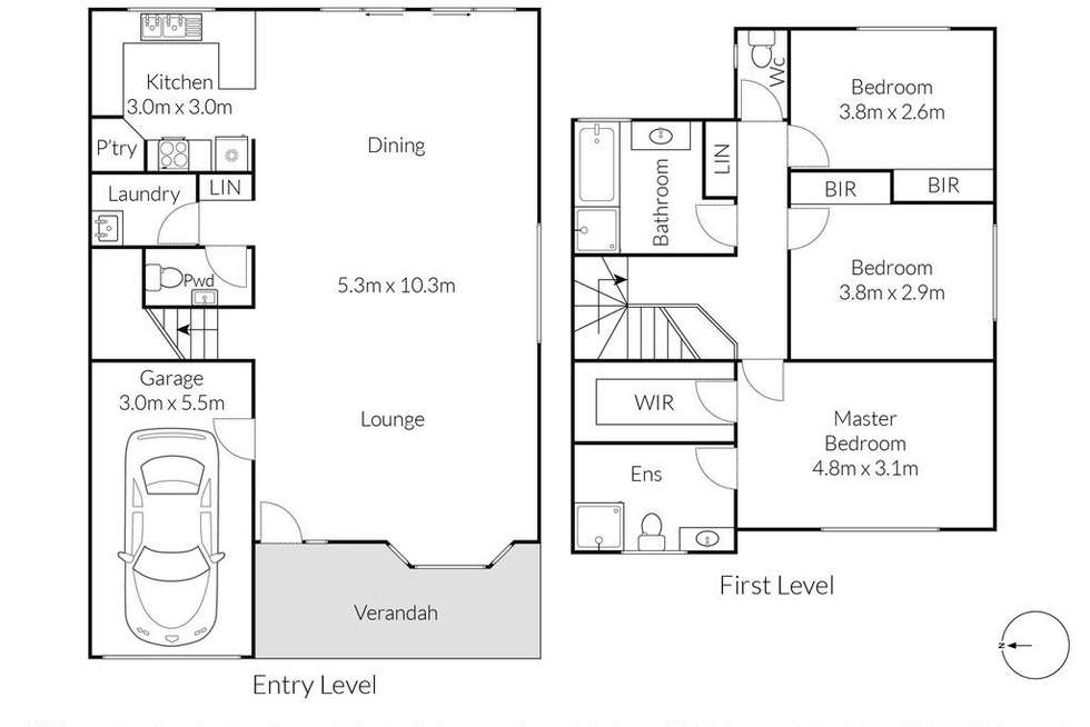 Floorplan of Homely house listing, 10A Andove Street, Belrose NSW 2085