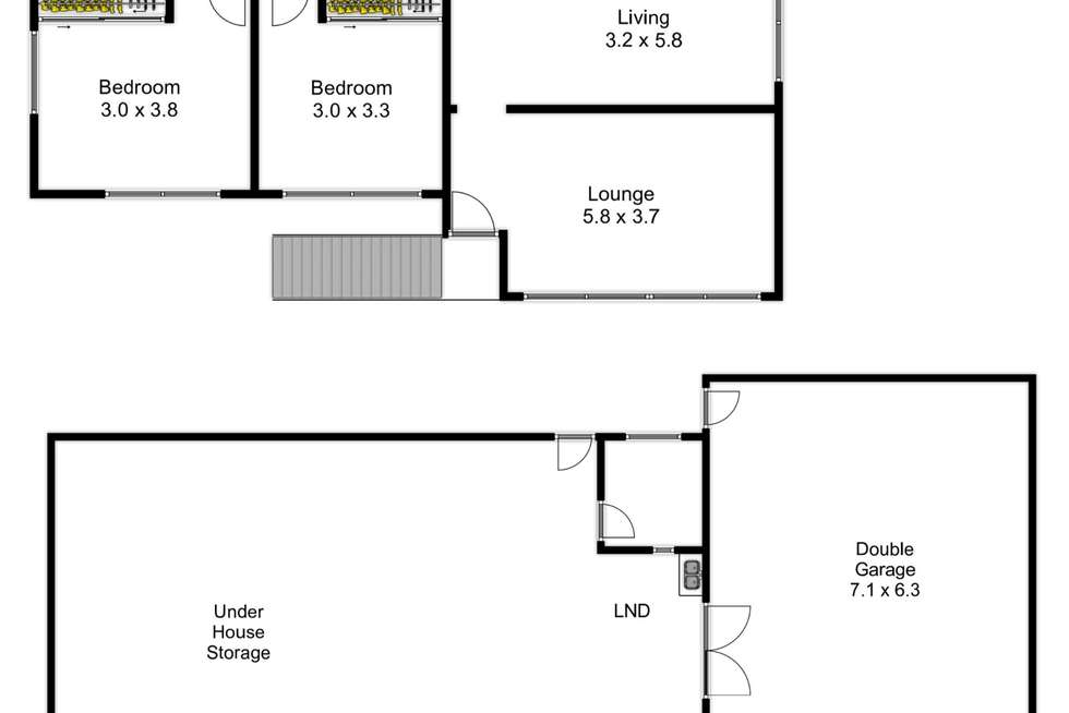 Floorplan of Homely house listing, 41 Sheffield Street, Oxley QLD 4075