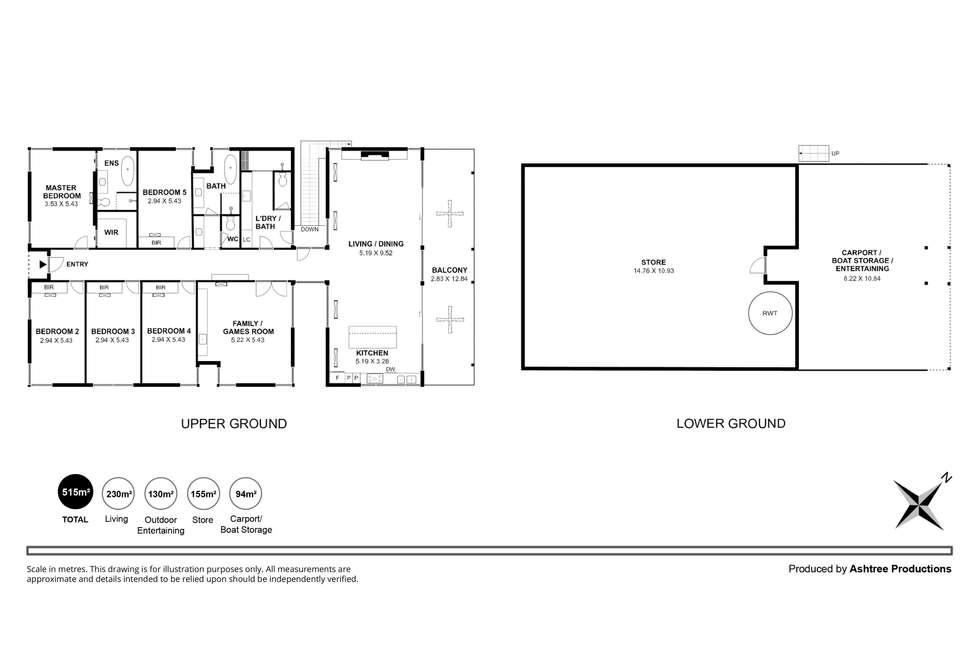 Floorplan of Homely house listing, 30 Marina Way, Mannum SA 5238
