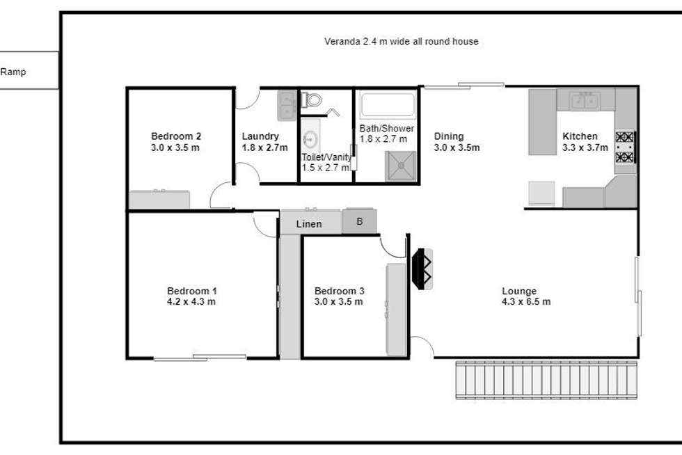 Floorplan of Homely house listing, 25 Hatchman Court, Elimbah QLD 4516
