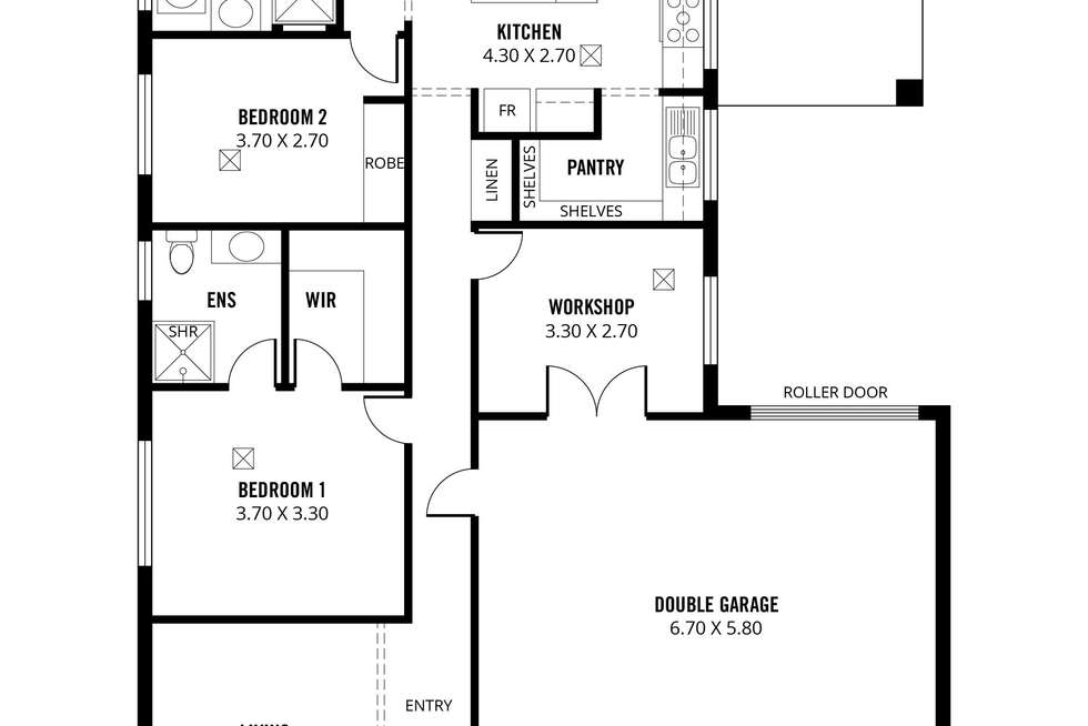 Floorplan of Homely house listing, 32 Rosewater Circuit, Mount Barker SA 5251