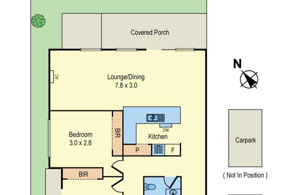 Floorplan of Homely apartment listing, 7/273 Grange Road, Ormond VIC 3204