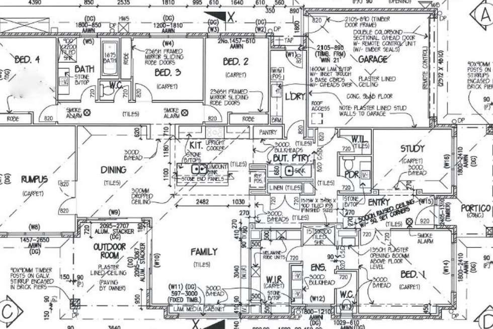 Floorplan of Homely house listing, 17 Seymour Drive, Mount Barker SA 5251