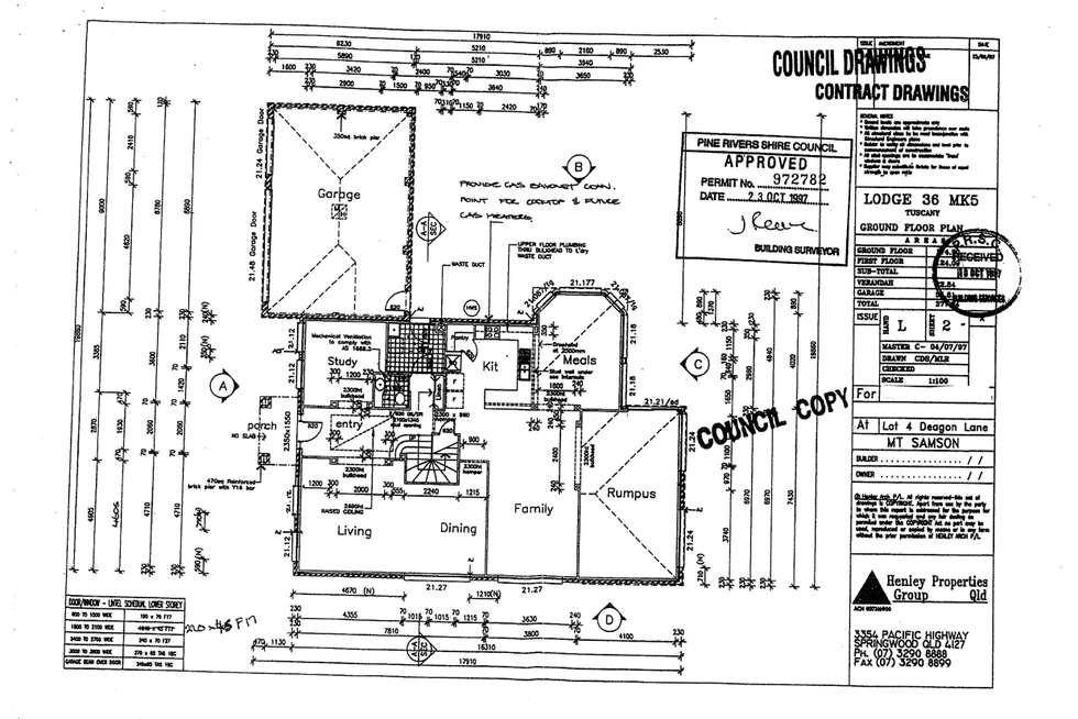 Floorplan of Homely house listing, Lot 4 Deagon Lane, Closeburn QLD 4520