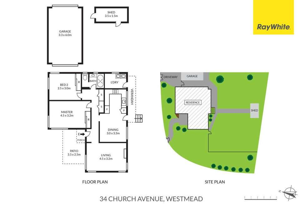 Floorplan of Homely house listing, 34 Church Avenue, Westmead NSW 2145