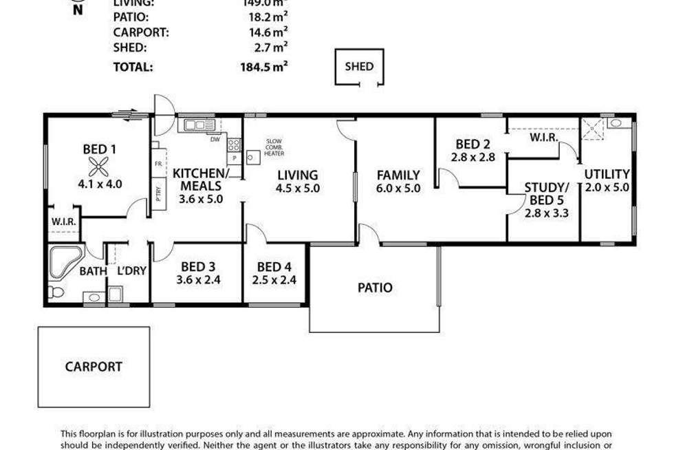 Floorplan of Homely house listing, 17 Pyrites Road, Brukunga SA 5252