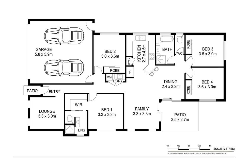 Floorplan of Homely house listing, 26 Lehmann Circuit, Caboolture South QLD 4510