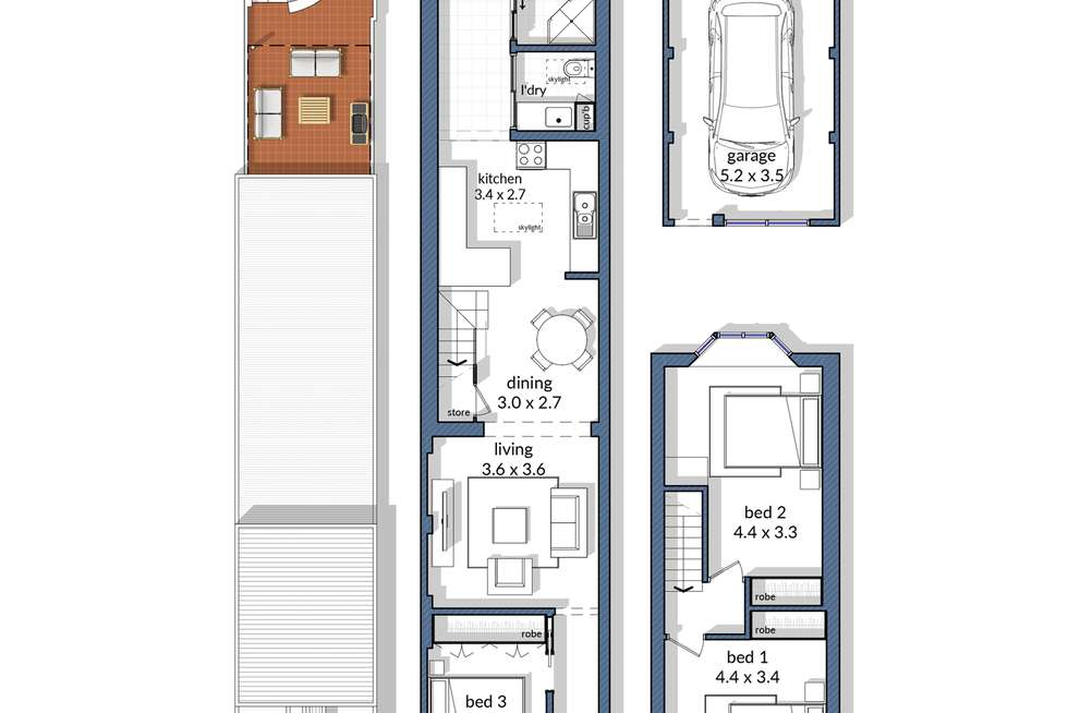 Floorplan of Homely house listing, 63 Young Street, Annandale NSW 2038