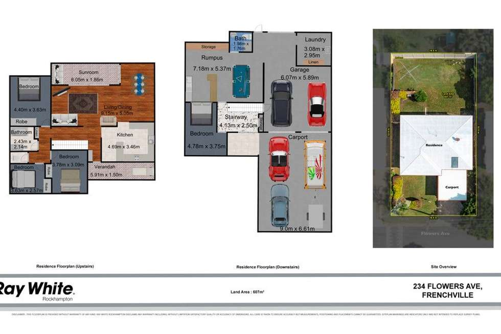 Floorplan of Homely house listing, 234 Flowers Avenue, Frenchville QLD 4701