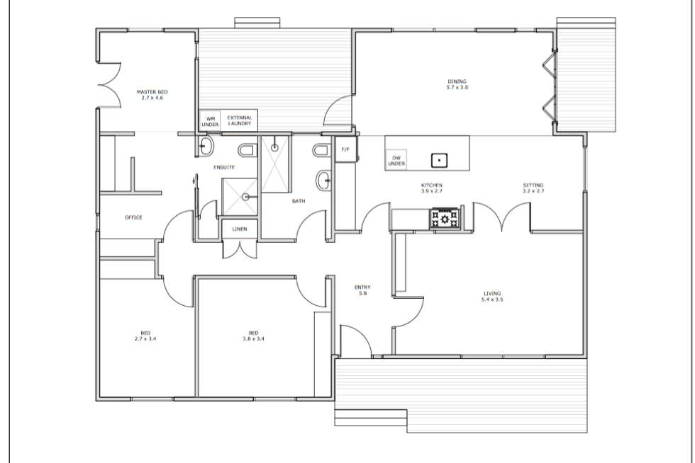 Floorplan of Homely house listing, 12 Faehrmann Avenue, Mount Barker SA 5251