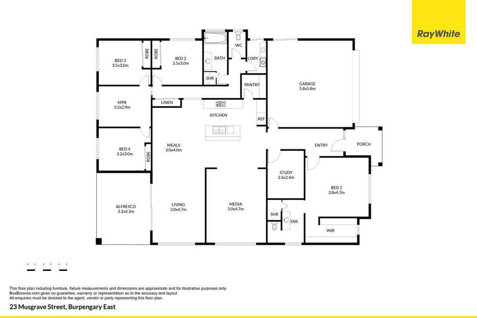 Floorplan of Homely house listing, 23 Musgrave Street, Burpengary East QLD 4505