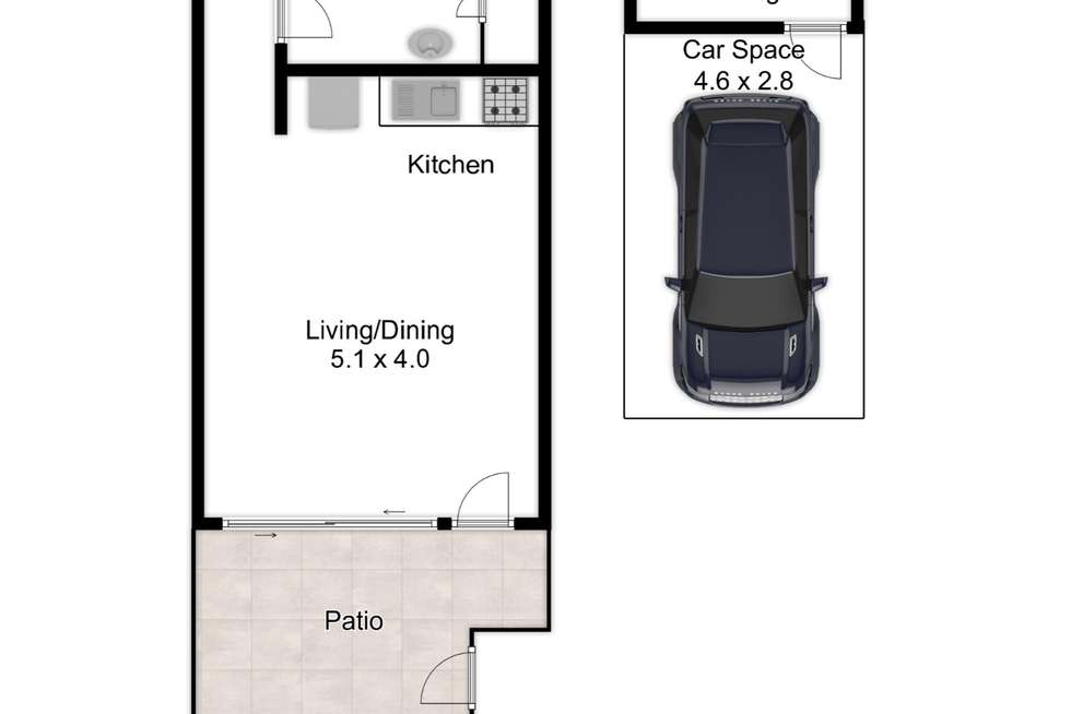 Floorplan of Homely unit listing, 19/493 Ipswich Road, Annerley QLD 4103