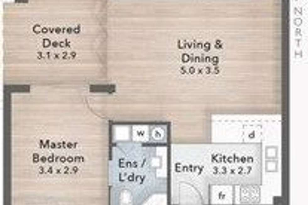Floorplan of Homely unit listing, 12/414 Marine Parade, Biggera Waters QLD 4216