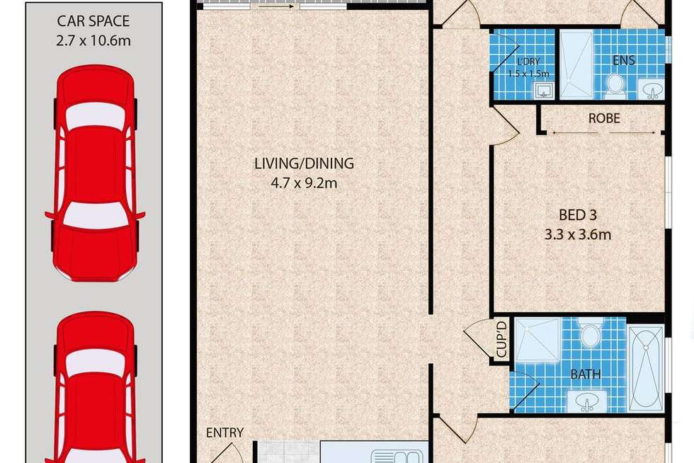 Floorplan of Homely unit listing, 23/121-127 Railway Parade, Granville NSW 2142