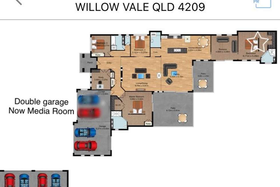 Floorplan of Homely acreageSemiRural listing, 29a Maiden Hair Place, Willow Vale QLD 4209