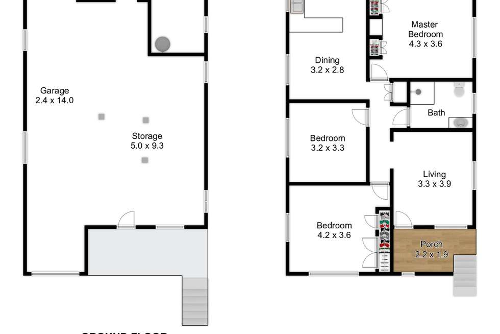 Floorplan of Homely house listing, 6 George Street, Virginia QLD 4014