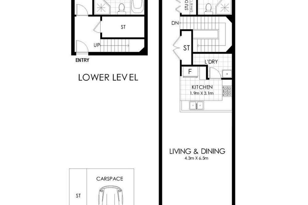 Floorplan of Homely apartment listing, 931/4 Marquet Street, Rhodes NSW 2138