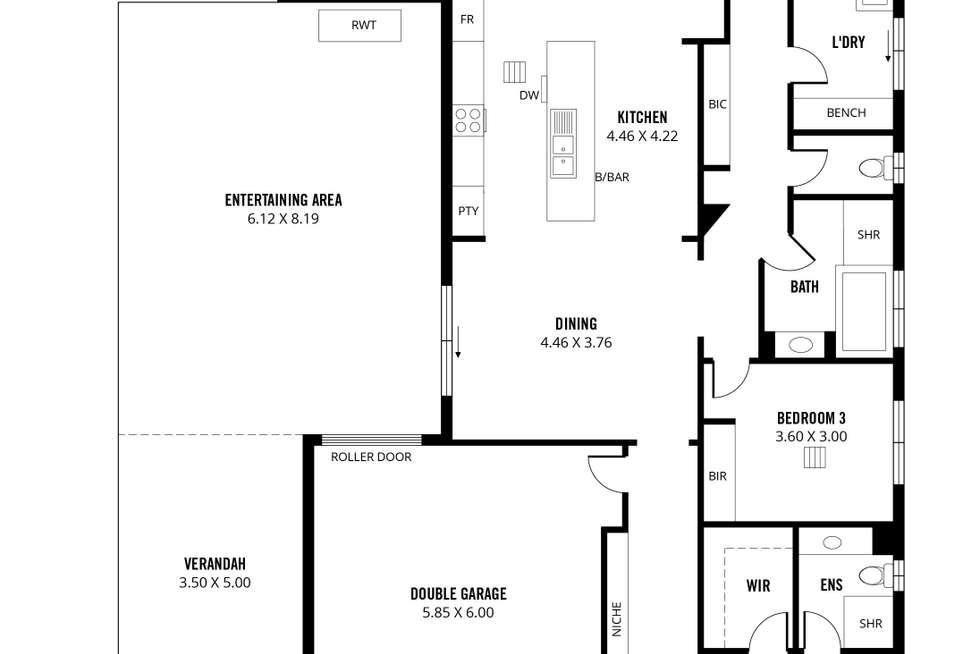Floorplan of Homely house listing, 46 Barton Circuit, Mount Barker SA 5251