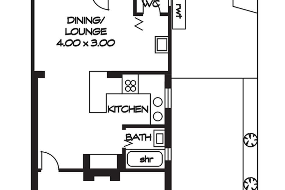 Floorplan of Homely house listing, 24 Norma Street, Mile End SA 5031