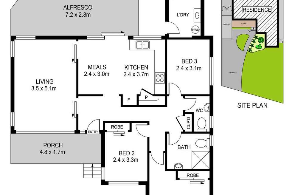 Floorplan of Homely house listing, 96 Riverstone Parade, Riverstone NSW 2765