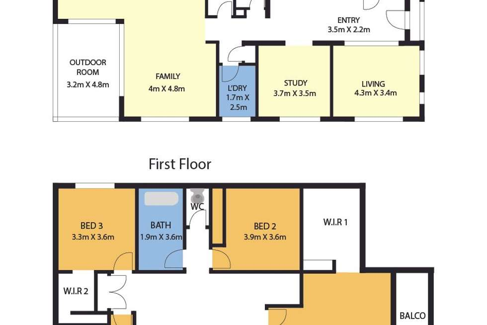 Floorplan of Homely house listing, 32 Manoora Avenue, Clyde North VIC 3978