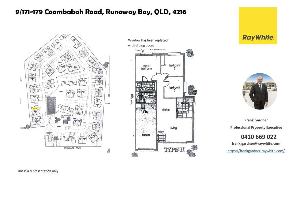 Floorplan of Homely semiDetached listing, 9/171-179 Coombabah Road, Runaway Bay QLD 4216