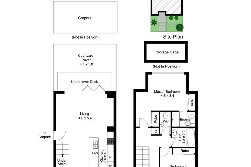 Floorplan of Homely townhouse listing, 3/178 Murrumbeena Road, Murrumbeena VIC 3163