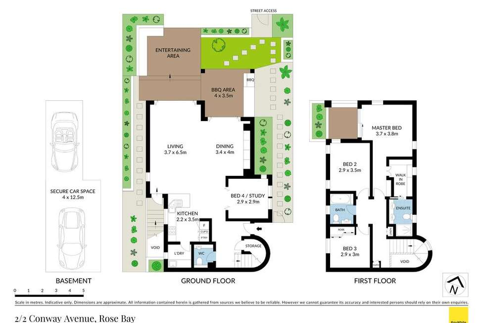 Floorplan of Homely house listing, 2/2 Conway Avenue, Rose Bay NSW 2029