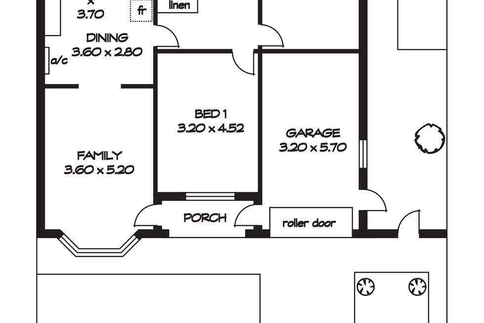 Floorplan of Homely house listing, 2/92 Ashbrook Avenue, Payneham South SA 5070