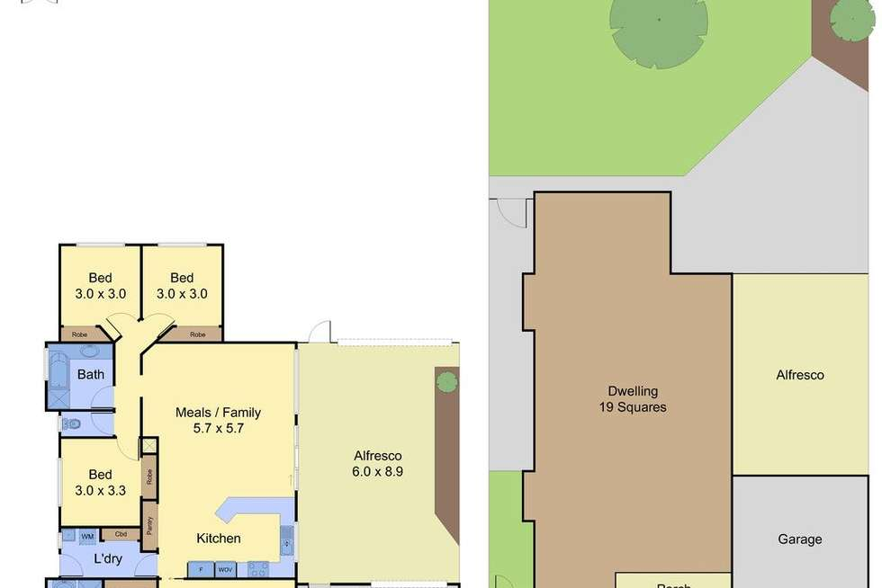 Floorplan of Homely house listing, 26 Kilcunda Drive, Rowville VIC 3178