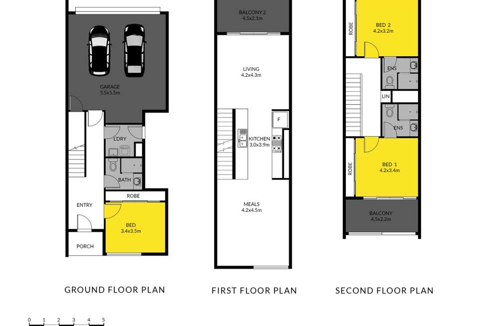 Floorplan of Homely townhouse listing, 10/95C Frederick Road, Royal Park SA 5014