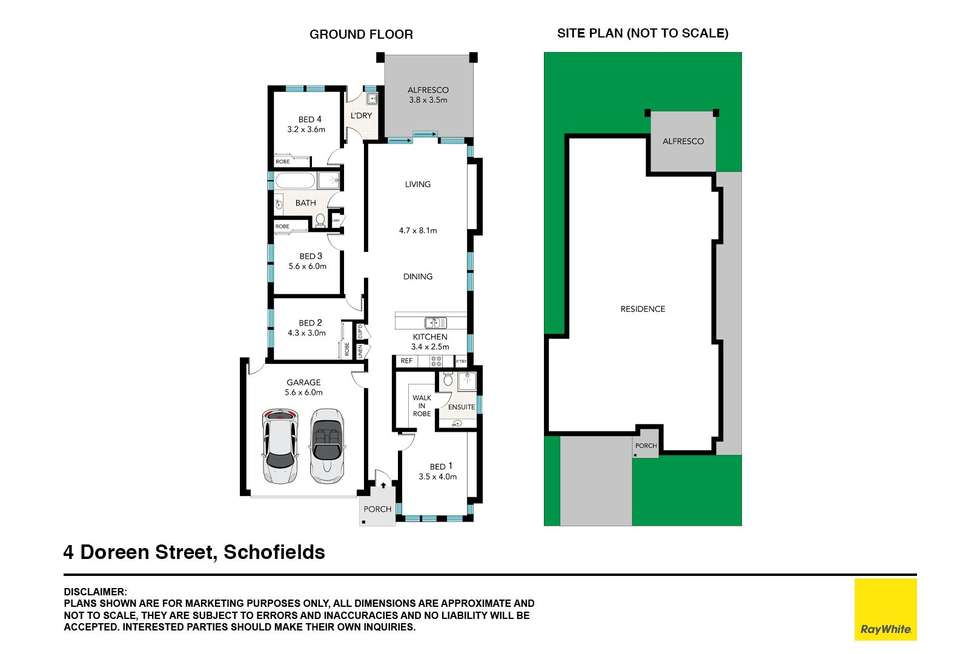 Floorplan of Homely house listing, 4 Doreen Street, Schofields NSW 2762